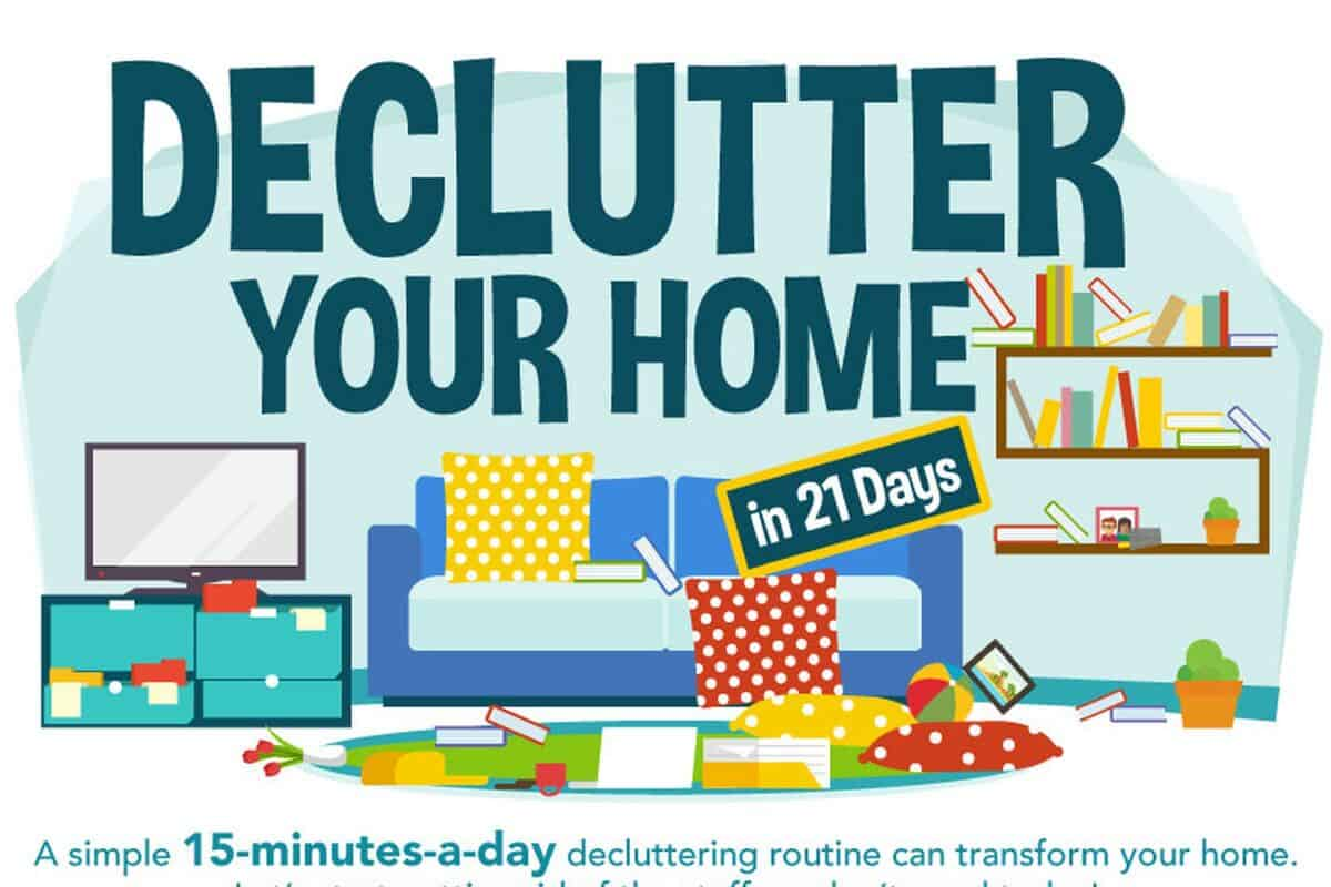 declutter your home guide