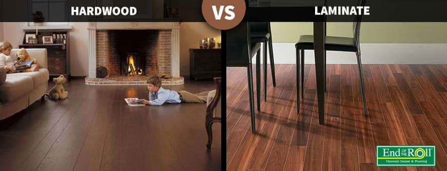 Hard wood and laminated wood comparison