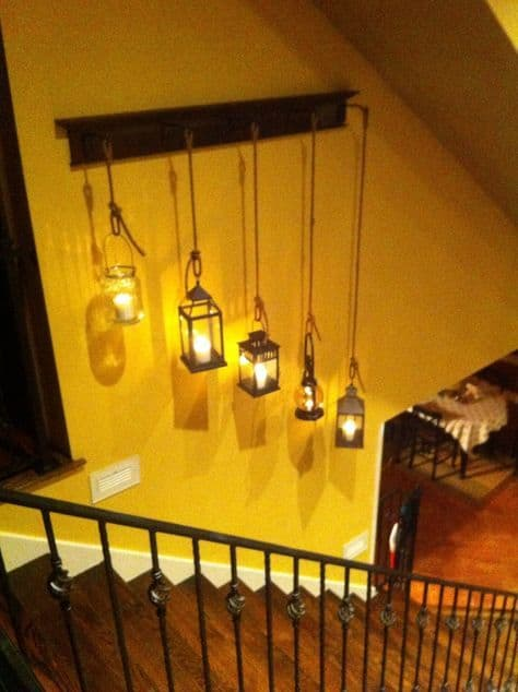 Bulb lights combined with ropes #ropeLights #lighting #lights #ledLights #stringLights #homeDecor #interiorDesign
