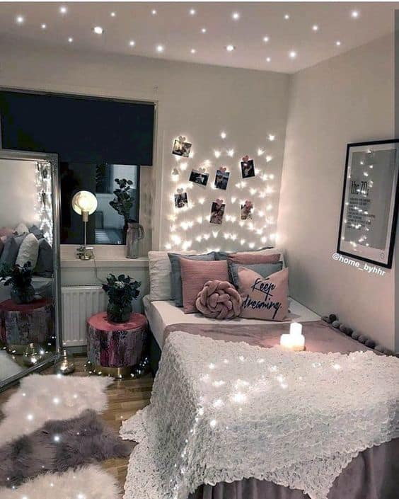 Indoor christmas lights for non-Chritmas time #christmasLights #ropeLights #lighting #lights #ledLights #stringLights #homeDecor #interiorDesign
